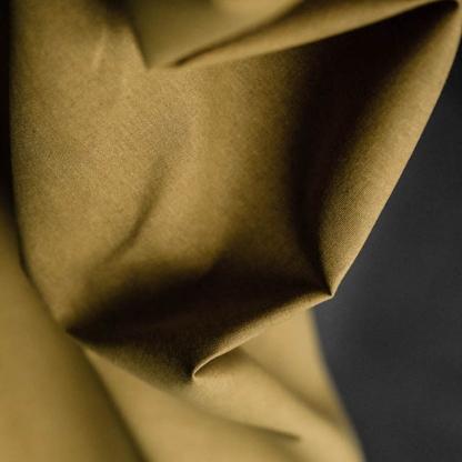 Merchant & Mills - Tissu Toile Cirée Sèche de Lin et Coton Uni Couleur Olive