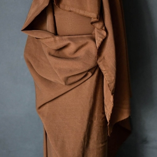 Merchant & Mills - Tissu Twill de Lyocell Uni Couleur Terracota