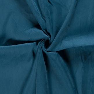 Sélection Coup de coudre - Tissu Velours Milleraies Uni Couleur Bleu Canard