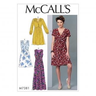 McCall's – Patron Femme Robe M7381