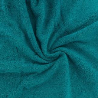 Sélection Coup de coudre - Tissu Eponge de Bambou Uni Couleur Bleu Turquoise