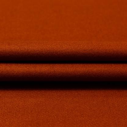 La Maison Victor - Tissu Drap de Laine Mélangé Uni Couleur Terracotta