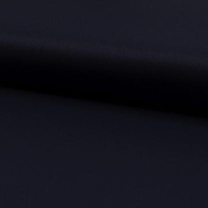 Sélection Coup de coudre - Tissu Toile de Viscose Mélangé Uni Couleur Bleu Marine