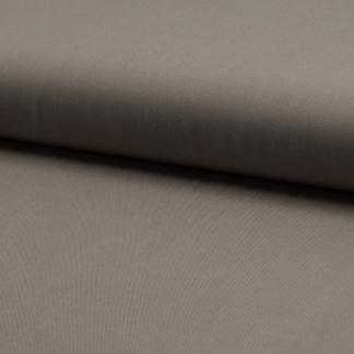 Sélection Coup de coudre - Tissu Twill de Viscose Uni Couleur Taupe