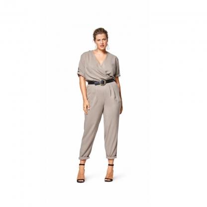 Burda Style – Patron Femme Combinaison n°6444 du 44 au 54