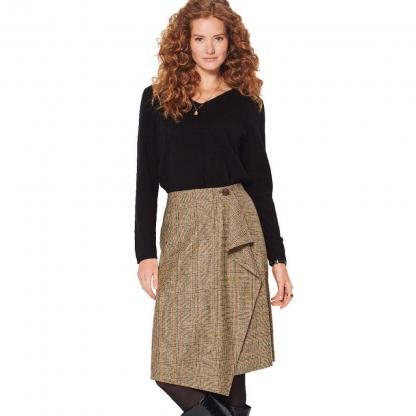 Burda Style – Patron Femme Jupe Portefeuille n°6174 du 34 au 44