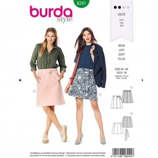 Burda Style – Patron Femme Jupe Trapeze n°6241 du 34 au 44