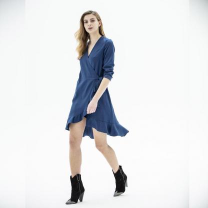 Fibre Mood - Patron PDF Numérique Femme Robe Charlotte du 32 au 58