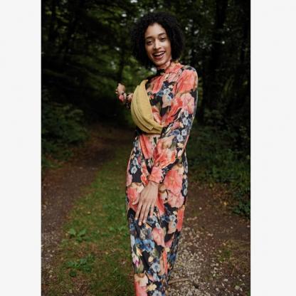 Fibre Mood - Patron PDF Numérique Femme Robe Holly du 32 au 58