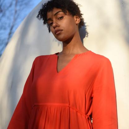 Fibre Mood - Patron PDF Numérique Femme Robe Pola du XS - XXXL