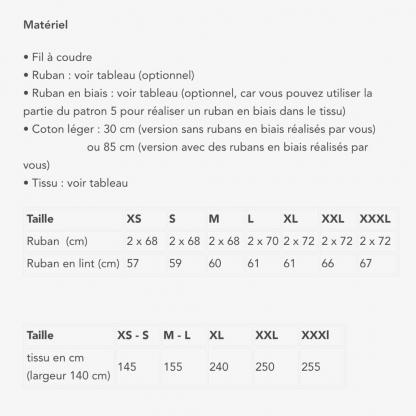 Fibre Mood - Patron PDF Numérique Femme Robe Toni du XS - XXXL