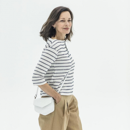 Fibre Mood – Patron PDF Numérique Femme T-Shirt Afra du XS au XXXL