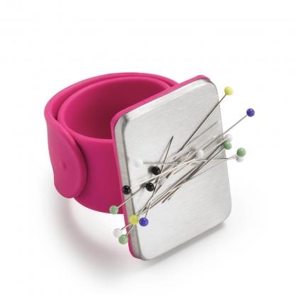 Prym Love - Bracelet Pelote Epingles Magnétique Coloris Fuchsia