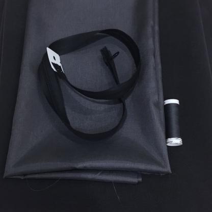 Christine Charles – Kit Couture Robe Catalina Couleur Gris Foncé