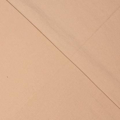 Fibre Mood - Tissu Sergé de Coton Stretch Uni Couleur Sable