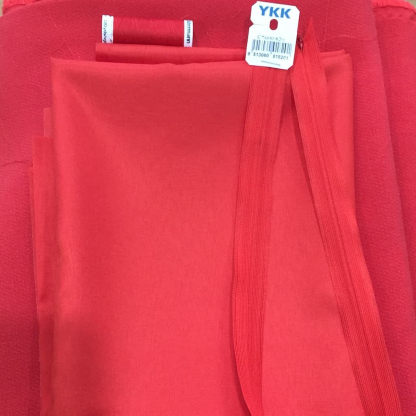 Christine Charles – Kit Couture Robe Catalina Couleur Rouge Coquelicot