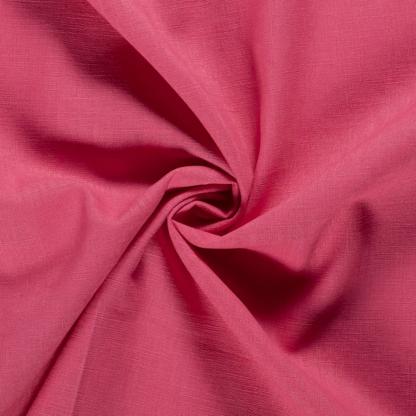 Christine Charles – Kit Couture Robe Yselda Uni Couleur Rose Framboise
