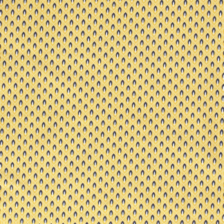 Sélection Coup de coudre - Tissu Popeline de Coton Imprimé Flammes sur le Fond Jaune Ocre