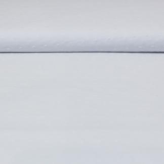 Sélection Coup de coudre - Tissu Voile de Coton Plumetis Uni Couleur Blanc