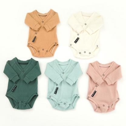 See You at Six - Tissu Jersey Bord-Cotes Uni Couleur Blanc Sel de Mer