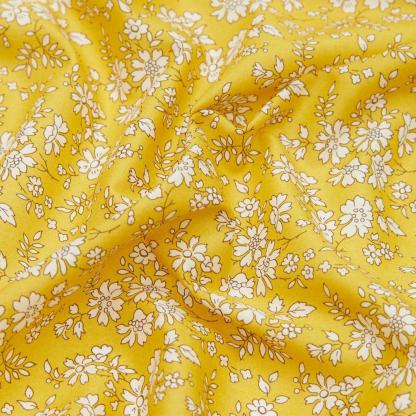 Liberty London - Tissu Capel Safran Tana Lawn Coton Bio