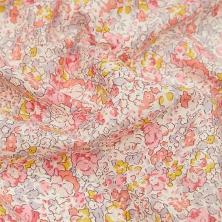 Liberty London - Tissu Claire-Aude Organic Tana Lawn Coton Couleur Rose