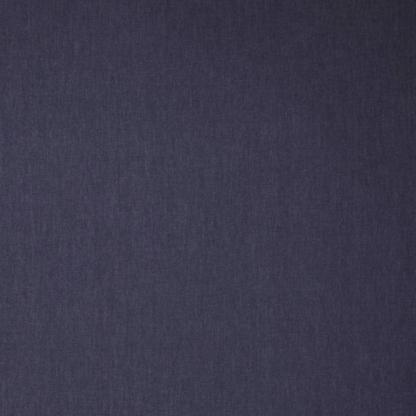Sélection Coup de coudre - Tissu Chambray de Coton Uni Couleur Bleu Indigo Foncé