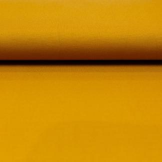 Sélection Coup de coudre - Tissu Jersey Maille Milano Uni Couleur Jaune Ocre
