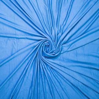 Sélection Coup de coudre - Tissu Jersey Sweat Léger de Bambou Uni Couleur Bleu Outremer