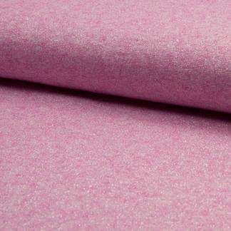Sélection Coup de coudre - Tissu Jersey de Viscose Mélangé Lurex Couleur Rose Fuchsia