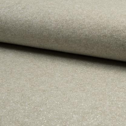 Sélection Coup de coudre - Tissu Jersey de Viscose Mélangé Lurex Couleur Sable Blanc