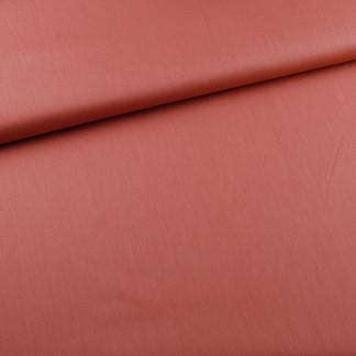 Sélection Coup de coudre - Tissu Popeline de Coton Bio Uni Couleur Rouge Tomette