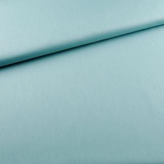 Sélection Coup de coudre - Tissu Popeline de Coton Bio Uni Couleur Vert de Mer