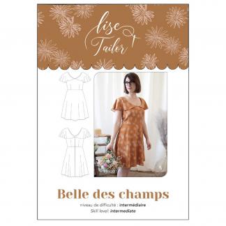 Lise Tailor – Patron Femme Robe Belle des Champs du 34 au 48