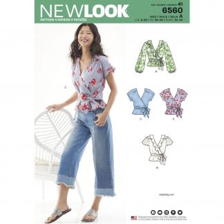 New Look – Patron Femme Cache Cœur n°6560 du 36 au 48