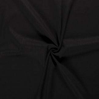 Sélection Coup de coudre - Tissu Toile Fine de Ramie Aspect Lin Uni Couleur Noir