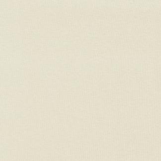 C. Pauli - Tissu Bord-Cotes Tubulaire 1x1 en Coton Bio Uni Couleur Blanc