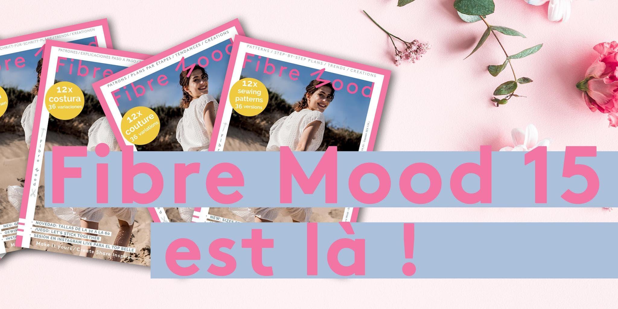 Fibre Mood - Livre de Patrons n°15 @ Coup de coudre
