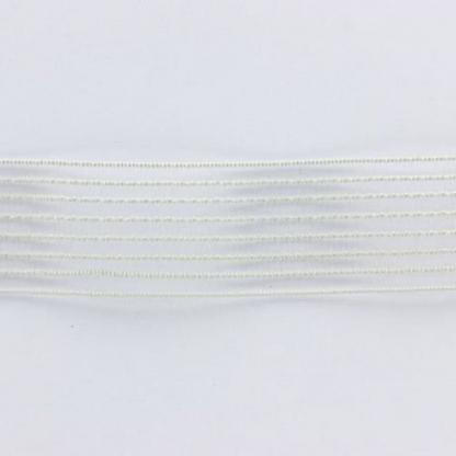Sélection Coup de coudre - Élastique Fronceur Coloris Blanc (25 mm)