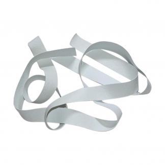 Sélection Coup de coudre - Élastique Laminette Siliconée Coloris Blanc (12,5 mm)