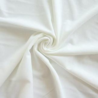 Sélection Coup de coudre - Tissu Doublure de Maillot de Bain Uni Couleur Blanc Cassé