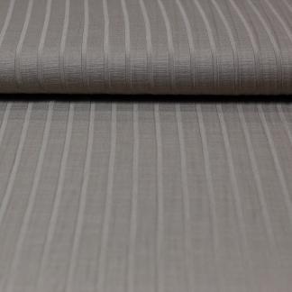 Sélection Coup de coudre - Tissu Jersey de Viscose aux Rayures en Relief Uni Couleur Beige