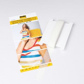 Vlieseline - Support Droit Fil Extensible T15 Coloris Blanc (15 mm x 5 m)