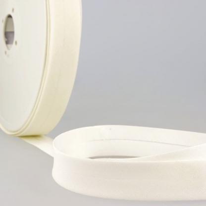 Sélection Coup de coudre - Biais Tous Textiles Coloris Blanc Cassé (20 mm)