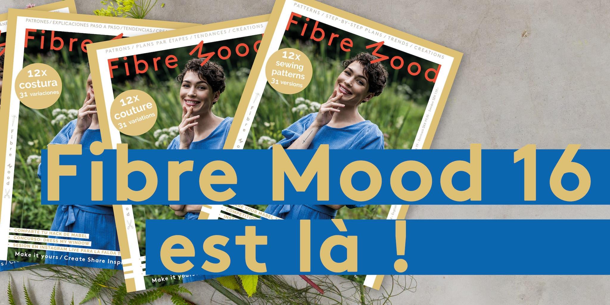 Fibre Mood - Livre de Patrons n°16 @ Coup de coudre