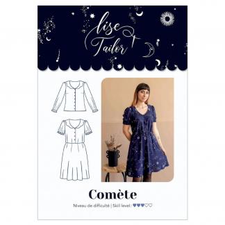 """Lise Tailor – Patron Femme Robe """"Comète"""" du 34 au 48"""
