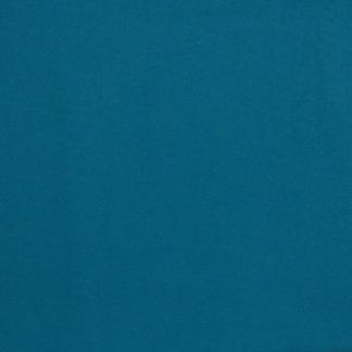Selection Coup de coudre - Tissu Flanelle de Coton Uni Couleur Bleu Petrole