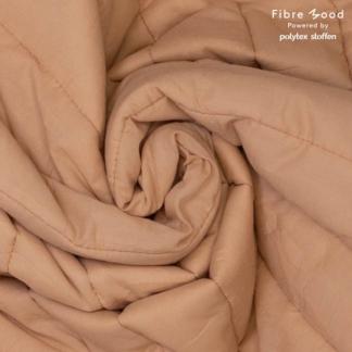 Fibre Mood - Tissu Doudoune Matelassé Double Face Uni Couleur Rose Nude