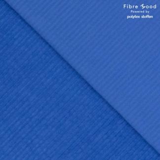 Fibre Mood - Tissu Velours Côtelé Uni Couleur Bleu Moyen
